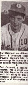 carl baseball 1970